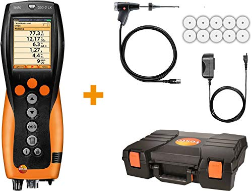 Testo 330-2 LX KIT 2 - Industrial Combustion Analyzer with NOx Measurement (400563 3372)