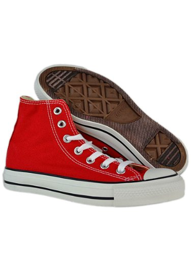 Converse Chuck Taylor All Star - Zapatillas de tela, unisex Red