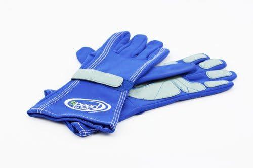 Speed Karthandschuhe F1 Style Blau Größe 11 Sport Freizeit