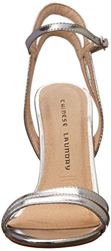 Dress Silver Lilliana Women's Sandal Chinese Lizard Laundry qAfOwfZI