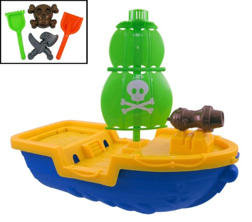 Giant Pirate Beach Playset Assorted