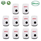 Ultrasonic Pest Repeller 10 Packs - Pest control Ultrasonic Repellent Pest Reject Plug in – Insects,Mosquitoes,Spiders,Ants,Rats, Roaches