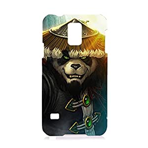 World of Warcraft Theme Cool and Unique Design Customized Slim Durable Hard Plastic 3D Case for Samsung Galaxy S5 waz68176