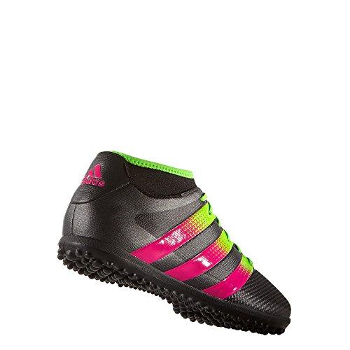 adidas Herren Fussballschuhe ACE 16.3 PRIMEMESH TF CBLACK/SGREEN/SHOPIN 45 1/3