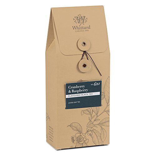 (Whittard Tea Cranberry and Raspberry Loose Leaf 100g)