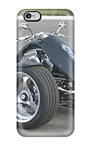 Iphone 6 Plus Hard Back With Bumper Silicone Gel Tpu Case Cover Three Wheels Motor Bike Silver Black Cars Other