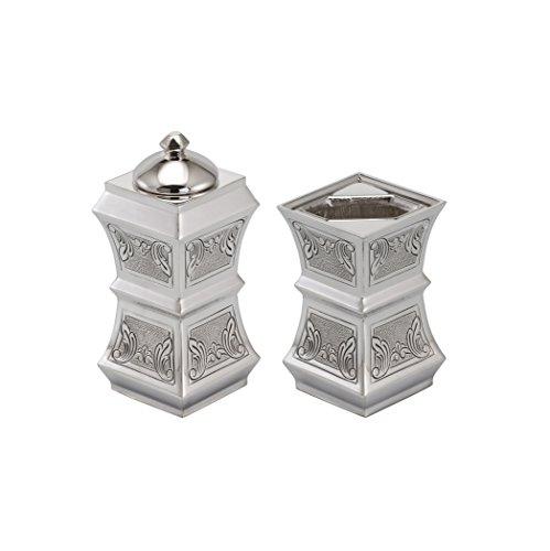 Hazorfim Bagatel Decorated Bessomim And Havdala Set Sterling silver Israel handmade .925 925 wedding gift present Holy Land Jerusalem Hatzorfim Hazorfim Shabbat Havdallah candle Shabbos by Hazorfim
