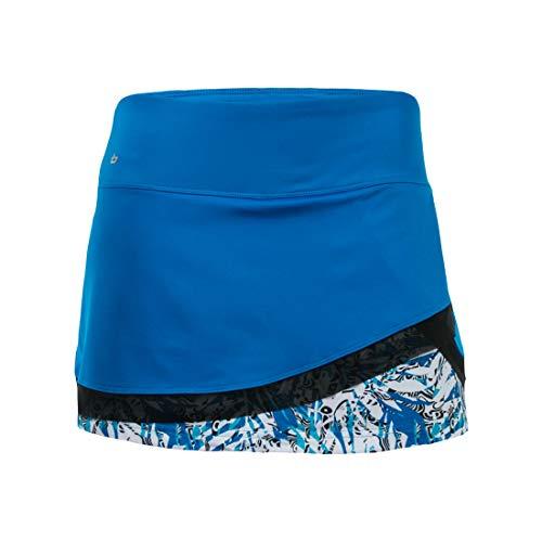 Bollé Women's Island Breeze Multi-layer Skirt With Built In Short, Parisian, Large