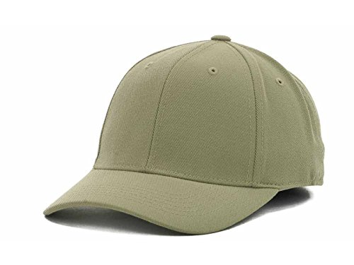 - Top of the World by Lids Men's Closer Fitted Blank Baseball Hat Cap (7 5/8, Khaki)