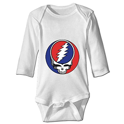 YSKHDBC Grateful Dead Steal Your Face Onesies Long