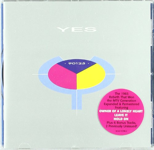 CD : Yes - 90125 (Bonus Tracks, Remastered)