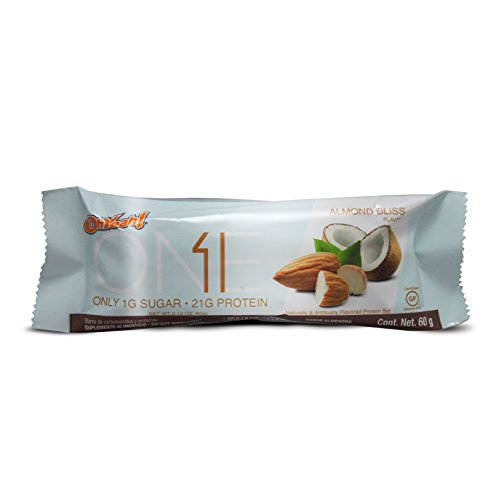 Iss Oh Yeah One Bar, Almond Bliss, 2.12 Ounce, 12 Count