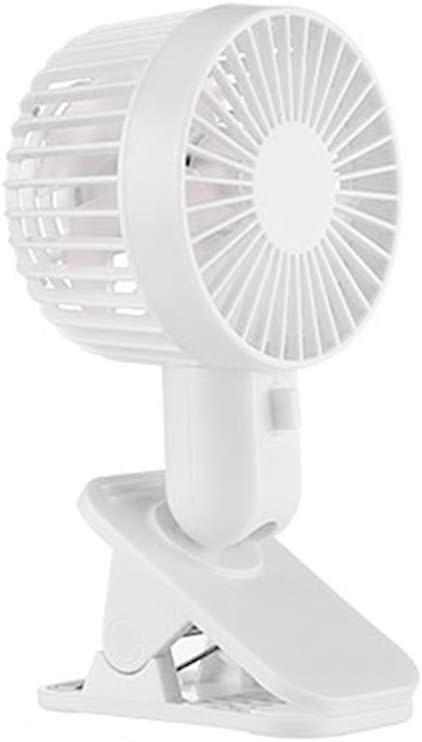 Yiwann ventilador portátil, clip de ventilador electrónico de ...