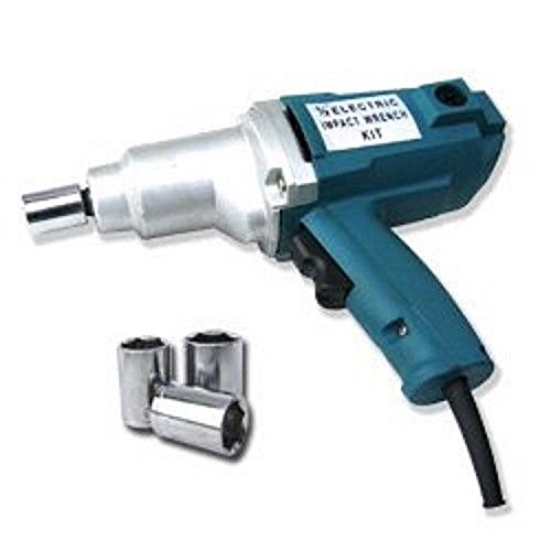1/2'' Electric Impact Wrench Gun Set w/ Case & Sockets Driver ,NEW by Jikkolumlukka