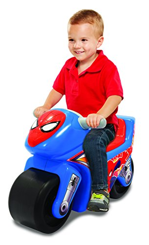 Spider-THE ULTIMATE SPIDER-MAN Man 4 Ultimate Spiderman Spidey Motorcycle Ride On