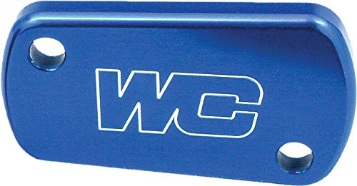 (04-16 KAWASAKI KX250F: Works Connection Rear Brake Reservoir Cap (BLUE))