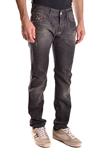 Evisu Homme MCBI338011O Noir Coton Jeans