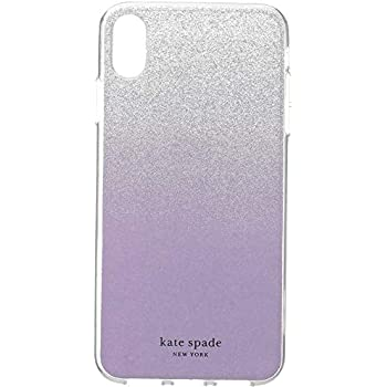 71d74cfe3d05 Kate Spade New York Glitter Ombre iPhone X Max Case, Frozen Lilac, Purple,