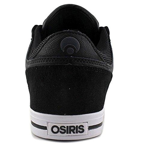 Osiris PRødokol Rund Tå Læder Skate Sko Sort / T-gade / Tony Mag 0cxZRIs4tb