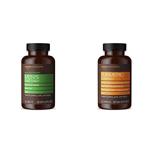 Amazon Elements Turmeric Herbal Supplements