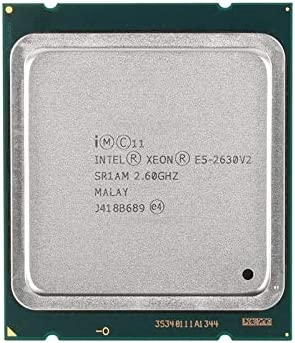 MAO YEYE Intel Xeon E5 2630 V2 Server Processor SR1AM 2.6GHz 6-Core 15M LGA2011 E5-2630 V2 CPU