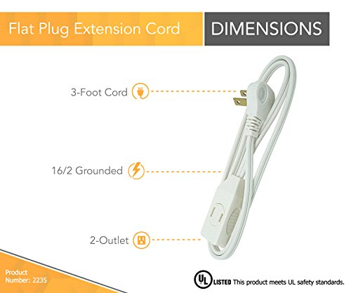 The 8 best extension cords with flat plug
