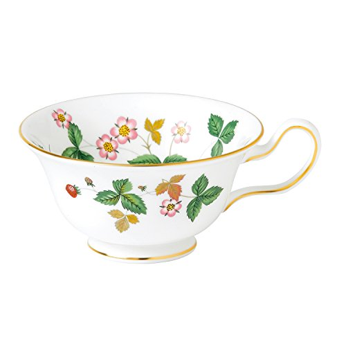 Wedgwood Wild Strawberry Peony Tea Cup, White ()