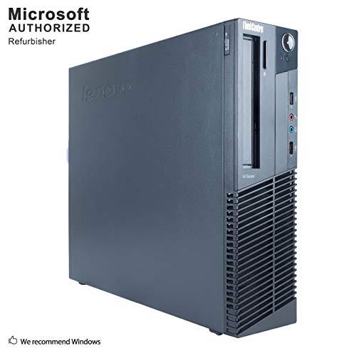 2019 Lenovo Think Centre Business Desktop Computer, Intel Core up to 3.7G, 16G DDR3, 512G SSD, 1T, DVDRW, WiFi, BT 4.0,VGA, DP, Win10 64 Bit-Multi-Language(CI5)(Upgrade Available)(Certified Refurbish)