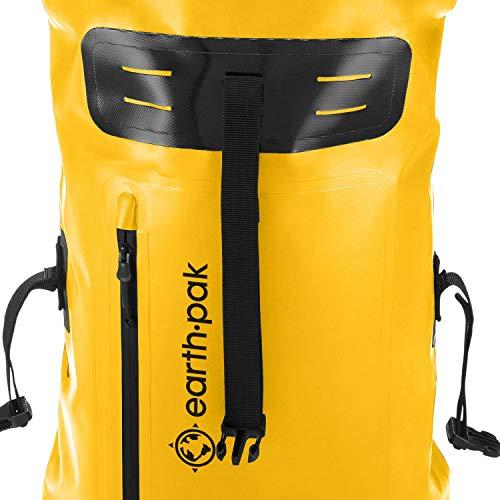 4250c8014e86 Earth Pak Waterproof Backpack  35L   55L Heavy Duty Roll-Top - Import It All