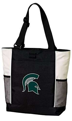 State Tote Michigan (Broad Bay Michigan State Tote Bags Michigan State University Totes Beach Pool Or Travel)
