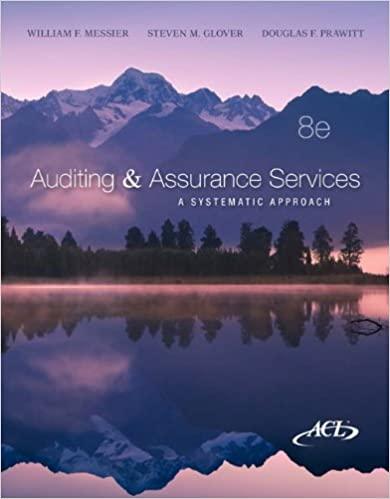 Auditing assurance services a systematic approach 8th william auditing assurance services a systematic approach 8th 8th edition fandeluxe Gallery