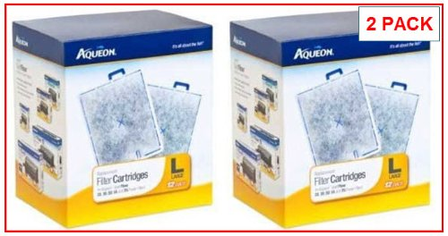 Monster Pets Aqueon 24-Pack Filter Cartridge, Large by Monster Pets