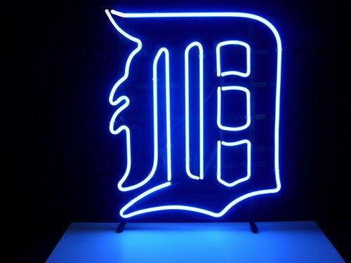 (DETROIT TIGER LOGO LARGER Neon Sign20