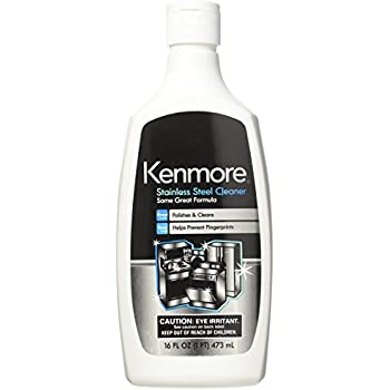 Amazon Com Kenmore 40083 Stainless Steel Cleaner Home