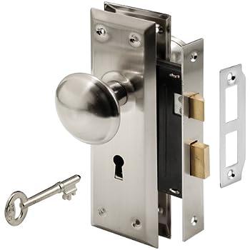 Prime-Line Products E 2330 Keyed Mortise Lock Set Satin Nickel Finish  sc 1 st  Amazon.com & Ultra Hardware 44609 2-1/4