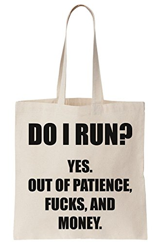 Canvas Out Do ks And Run Of I Money Tote Bag F Patience wacFwzTq