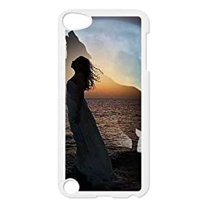 Dances with Wolves Customized Cover Case with Hard Shell Protection for Ipod Touch 5 Case lxa#269520