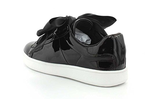 Black Low Patent Top Pabst Jeffrey Sneaker Womens Campbell qwznHa