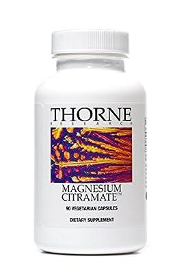 THORNE RESEARCH - Magnesium CitraMate (135 mg) - 90 Vegetarian Capsules