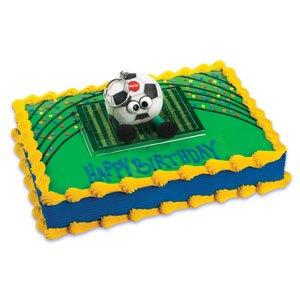 (Soccer Talking Plush Cake Topper / 1 each)