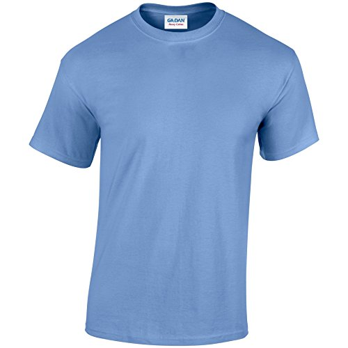 Gildan Heavy Camiseta de algodón para adultos Azul