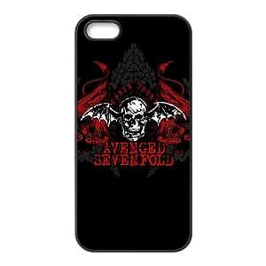 Custom Avenged Sevenfold Cell Phone Case, Custom Durable Cover Case for iPhone 5/5G/5S Avenged Sevenfold