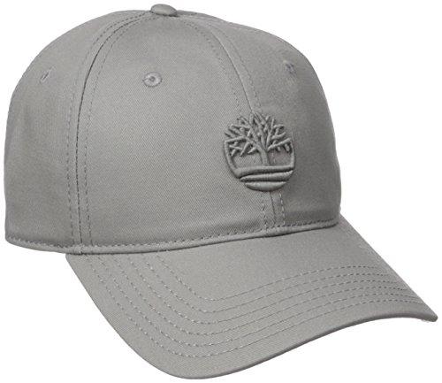 Timberland Mens Cotton Baseball Cap Baseball Cap - Gray -  Amazon.co.uk   Clothing d065f9fb9dd7
