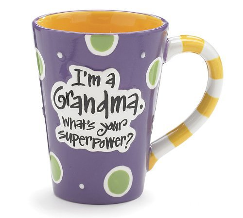 I'm A Grandma, What's Your Super Power, Coffee Mug
