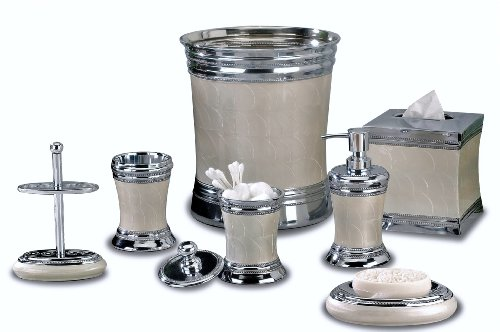 nu steel Fantasy Collection Bathroom Accessories Set,7-Piece