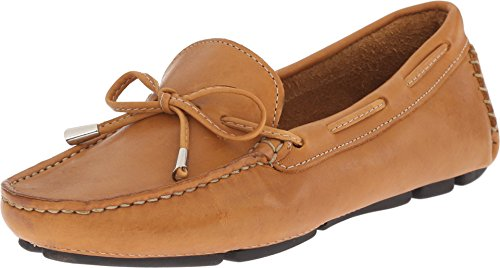 Massimo Matteo Women's Tie Driver Tan Bison Leather 8.5 M US