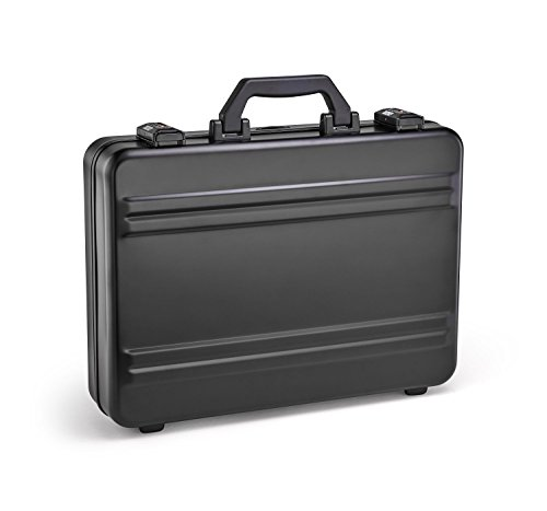 Zero Halliburton Premier Standart Aluminum Attache Case in Black ()