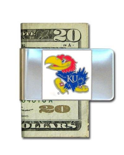 NCAA Kansas Jayhawks Steel Money Clip