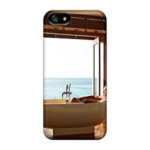 High Quality Lux Resort Maldives View From Water Villa Cases For Case Iphone 4/4S Cover / Perfect Cases