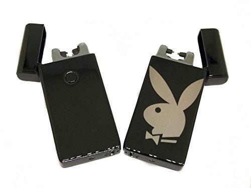 (Txdeals4u Dual Arc Plasma Playboy Bunny Lighter - Rechargeable Flameless Plasma Beam Lighter - Electric lighter - Plasma lighter - Rechargeable - No Butane - Splashproof - Windproof)
